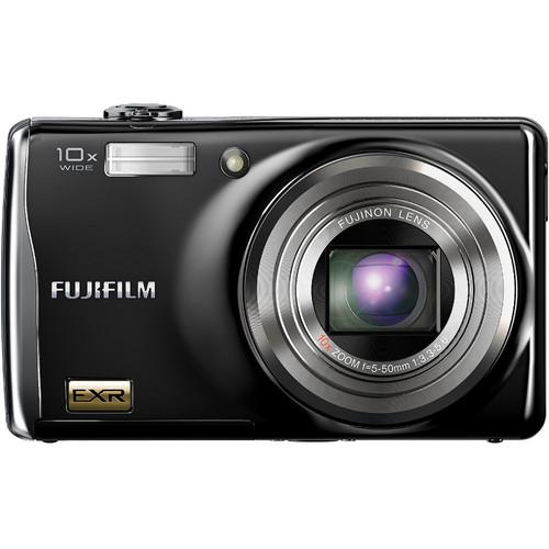 Fujifilm F80EXR 12 MP Digital Camera (Black)