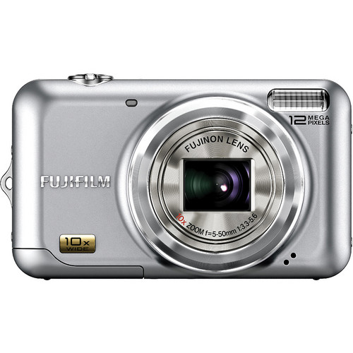 Fujifilm FinePix JZ300 12 MP Digital Camera (Silver)