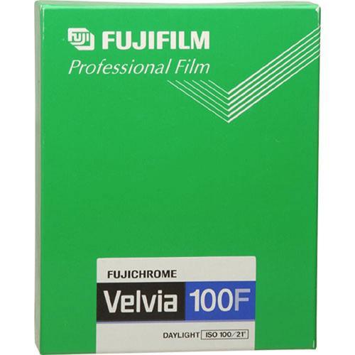 Fujifilm RVP 4x5 Fujichrome Velvia 100-F (20 Sheets)