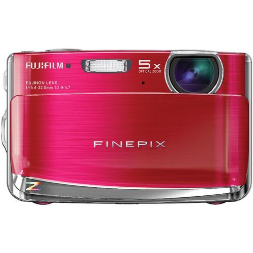 Fujifilm Z70 12MP Digital Camera (Red)