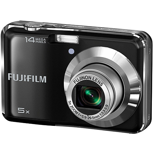 Fujifilm FinePix AX300 Digital Camera (Black)