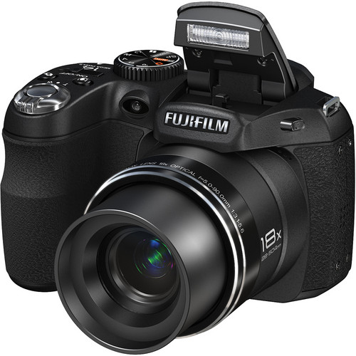 Fujifilm FinePix S2950 14MP Digital Camera (Black)