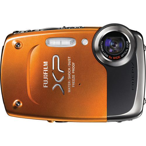Fujifilm Finepix XP20 Digital Camera (Orange)