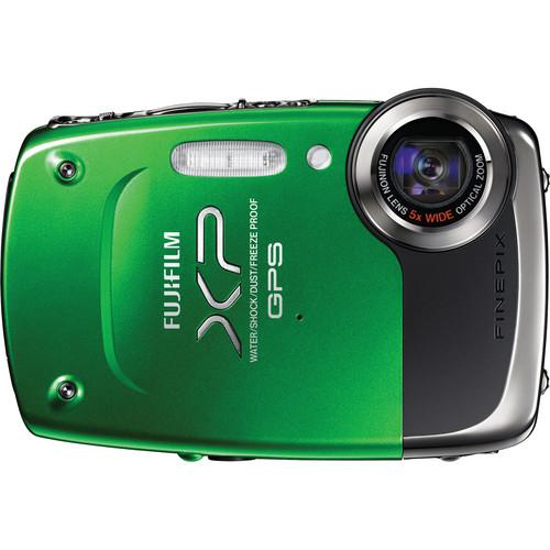 Fujifilm FinePix XP30 Digital Camera (Green)