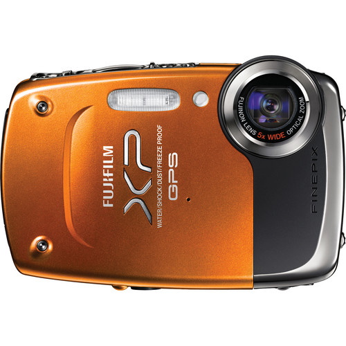 Fujifilm FinePix XP30 Digital Camera (Orange)