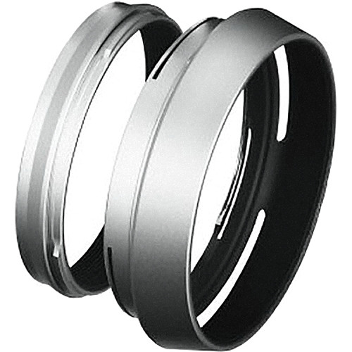 FUJIFILM LH-100 Lens Hood and Adapter Ring for X100/X100S (Silver)