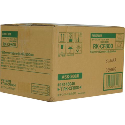 """Fujifilm 4.0x6.0"""" Media For ASK-300 (800 Prints)"""