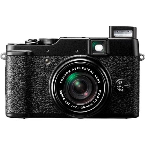 Fujifilm X10 Digital Camera (Black)