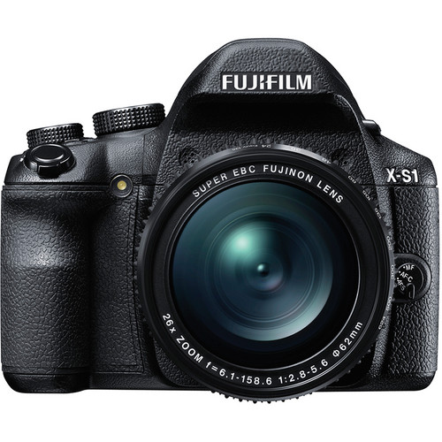 Fujifilm X-S1 Digital Camera (Black)