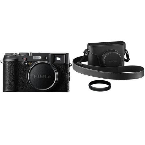 FUJIFILM X100 BLACK Limited Edition Digital Camera
