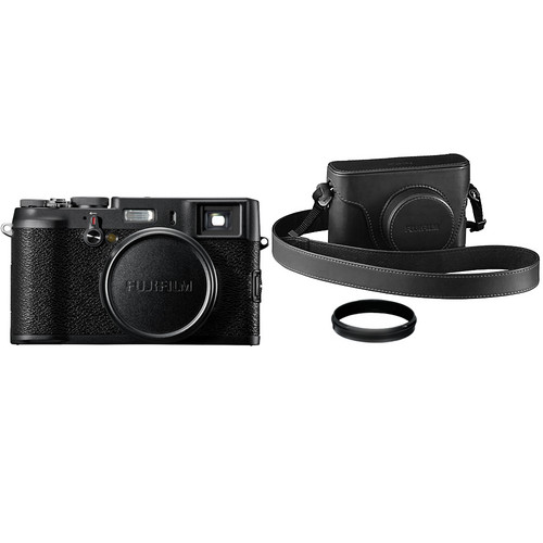 Fujifilm X100 BLACK Limited Edition Digital Camera