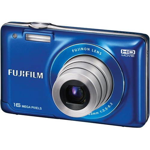 Fujifilm FinePix JX580 Digital Camera (Blue)