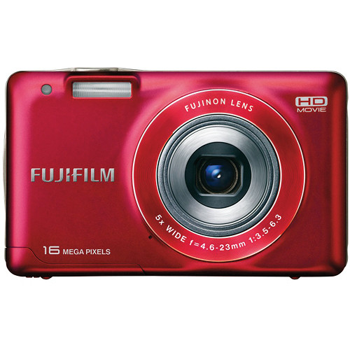 Fujifilm FinePix JX580 Digital Camera (Red)