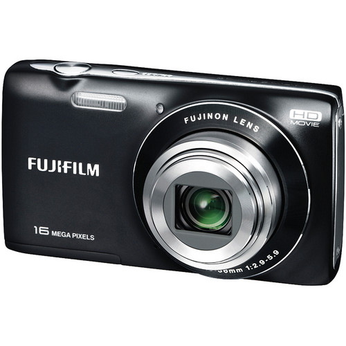 Fujifilm FinePix JZ250 Digital Camera (Black)