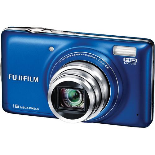 Fujifilm FinePix T400 Digital Camera (Blue)