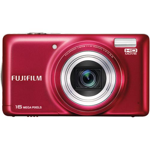 Fujifilm FinePix T400 Digital Camera (Red)