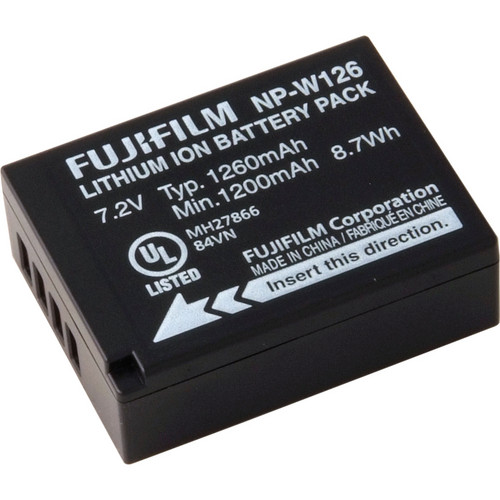 Fujifilm NP-W126 Li-Ion Battery Pack