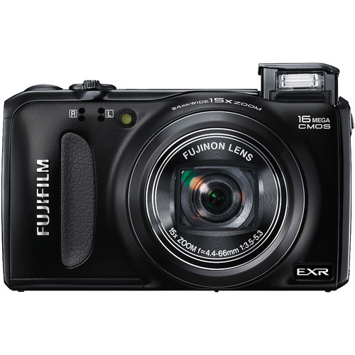 Fujifilm FinePix F660EXR Digital Camera (Black)
