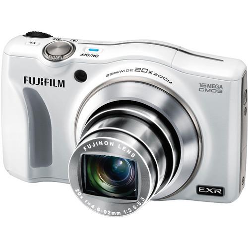 Fujifilm FinePix F750EXR Digital Camera (White)