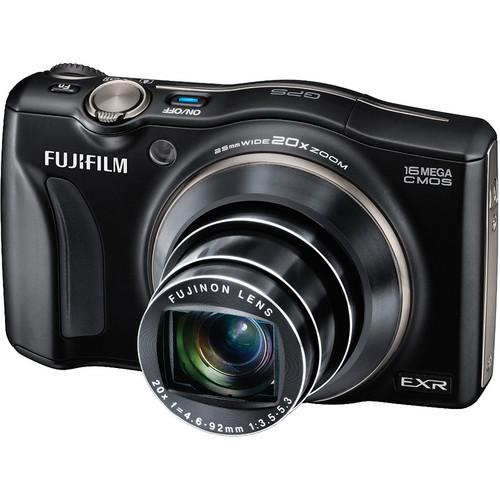 FUJIFILM FinePix F770EXR Digital Camera (Black)