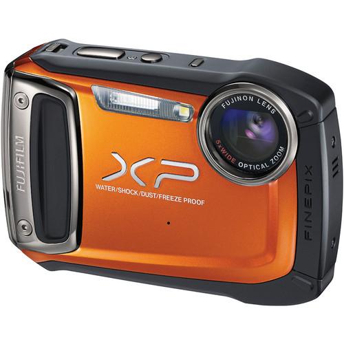 Fujifilm FinePix XP100 Digital Camera (Orange)