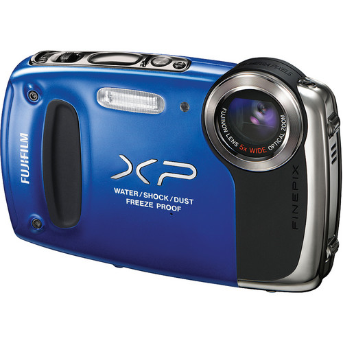 Fujifilm FinePix XP50 Digital Camera (Blue)