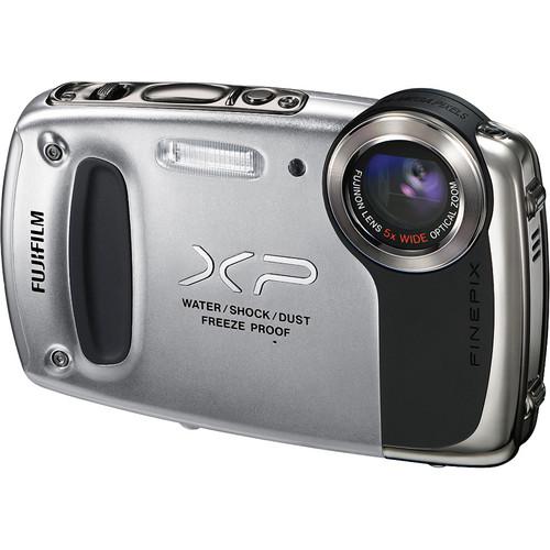 Fujifilm FinePix XP50 Digital Camera (Silver)