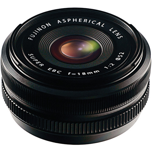 Fujifilm 18mm f/2.0 XF R Lens