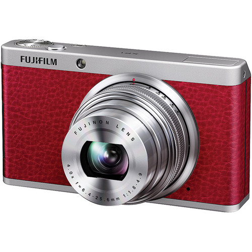 Fujifilm XF1 Digital Camera (Red)