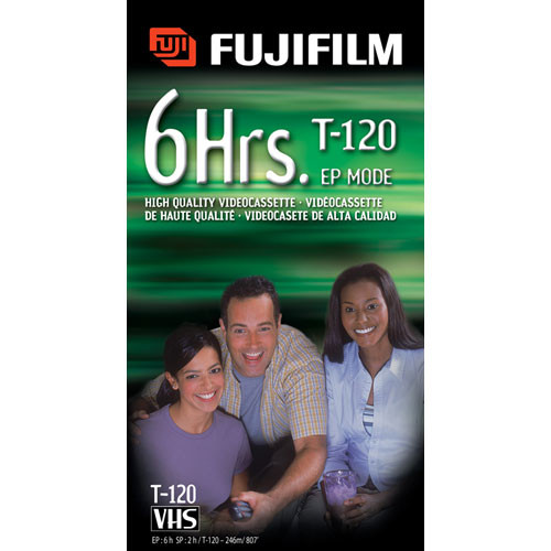 Fujifilm HQ T-120 VHS Video Cassette