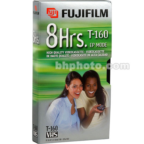 Fujifilm HQ T-160 VHS Video Cassette