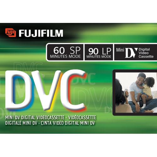 Fujifilm DVC-60 Mini DV Cassette (60 Minutes)