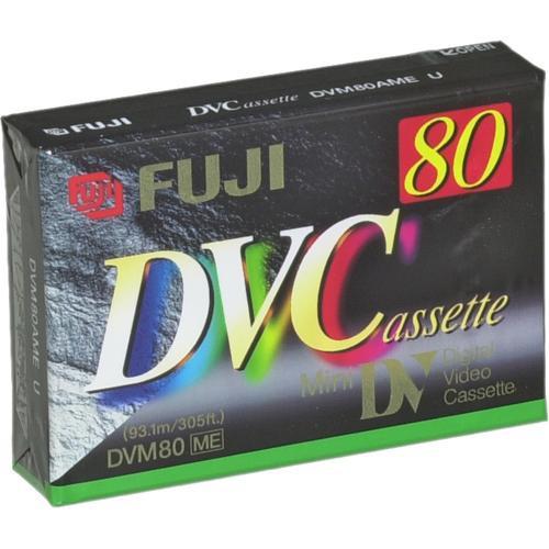 Fujifilm DVC-80 Mini DV Cassette (80 Minute)