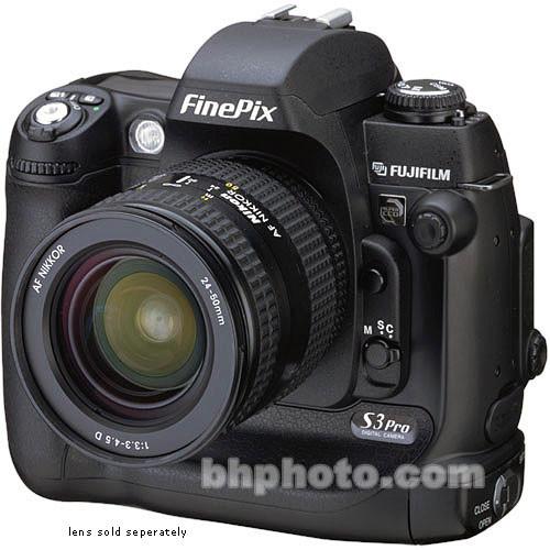 FUJIFILM FinePix S3 Pro Digital SLR Camera, 12.3 Megapixel (Camera Body)