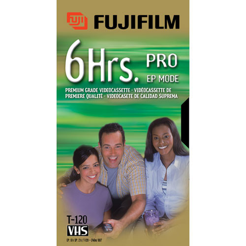 Fujifilm PRO-T120 VHS Video Cassette