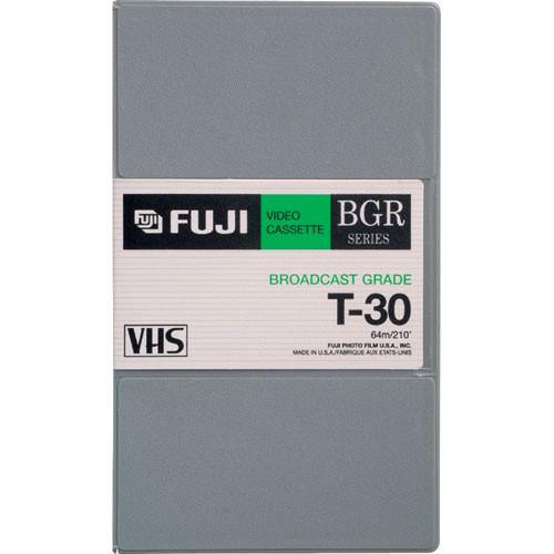 Fujifilm BGR-30 VHS Video Cassette