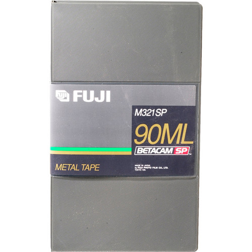 Fujifilm M321SP 90-Minute Betacam SP (Large)