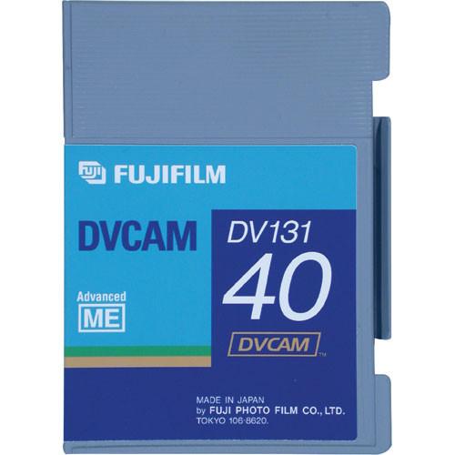 Fujifilm 40 Minutes DVCAM Video Cassette - Small