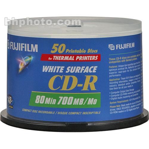 Fujifilm CD-R White Thermal Disc (50)