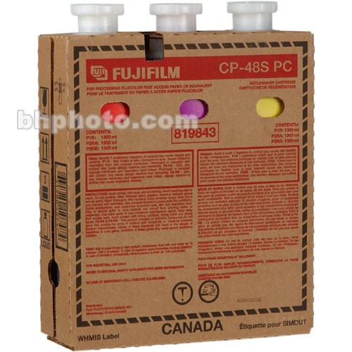 Fujifilm CP-48S PC Cartridge Replenisher for Frontier Machines 8.86 - lit