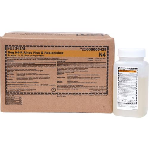 Fujifilm NEG Universal N4-R Rinse Plus and Replenisher (12 x 10 L)