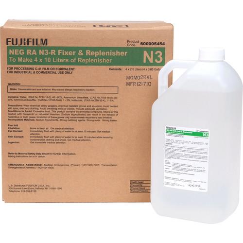 Fujifilm NEG RA N3-R Fixer & Replenisher (4 x 10 L)