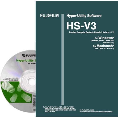 Fujifilm Hyper Utility Software HS-V3