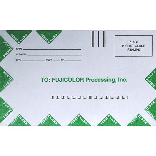 Fujifilm Slide Processing Mailer (Pack of 5)