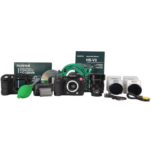 Fujifilm IS Pro SLR Digital Camera with Forensic Zeiss Lens Kit