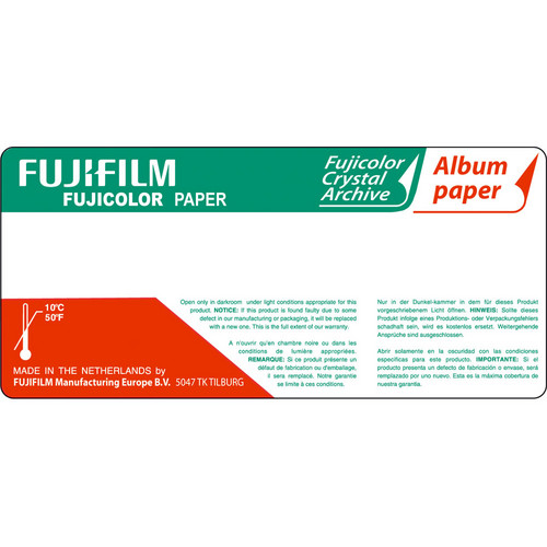 "Fujifilm Fujicolor 8"" Crystal Archive Album Paper (820')"