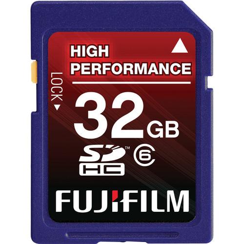 Fujifilm 32GB SDHC Memory Card