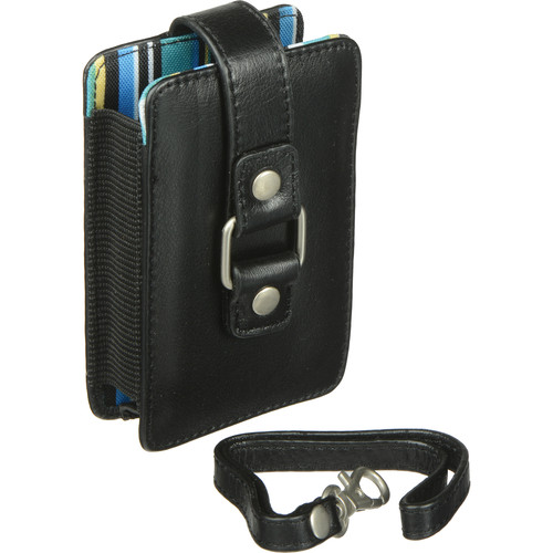 Fujifilm Slimline Compact Case with Blue Stripe