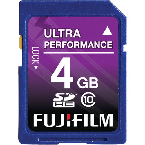 Fujifilm 4GB SDHC Memory Card Class 10