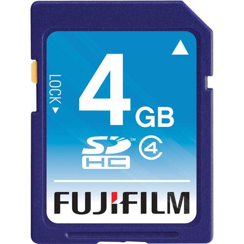 Fujifilm 4GB SDHC Memory Card Class 4